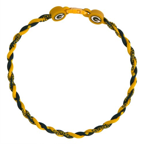 Phiten Necklaces: Green Bay Packers Titanium Necklace, Packers Phiten