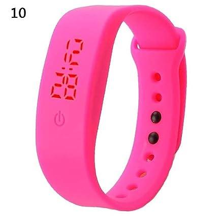 Huhuswwbin Reloj Digital para HombreDe Actividad Deporte ...