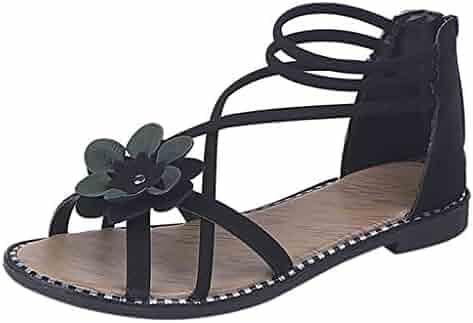c4773a4d8 Women Athletic Jiayit Women Ladies Summer Flower Home Wedges Beach Shoes  Sandals Flip Flops Slippers Summer Thong Clearance Womens High Heel Platform  ...