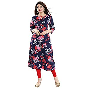 ALC Creation Women's crepe a-line Kurti