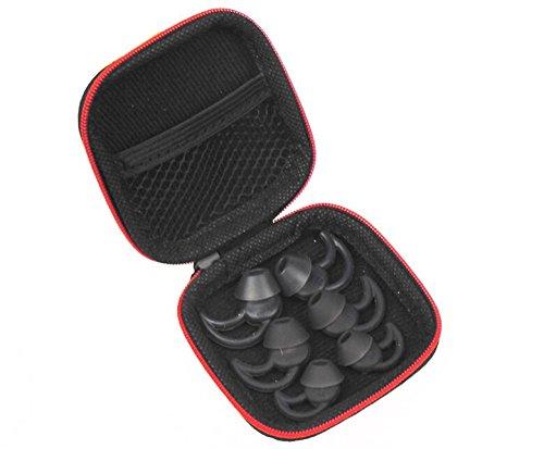 Nueva aislamiento del ruido auriculares 3pares (S, M, L) con capa extra confort almohadillas para orejas de repuesto para...