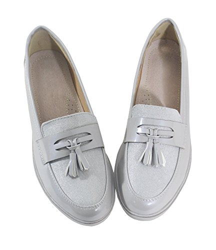 By By Donna Grigio Shoes Mocassini By By Mocassini Shoes Donna Mocassini Shoes Grigio Shoes Grigio Donna Pw1HTH