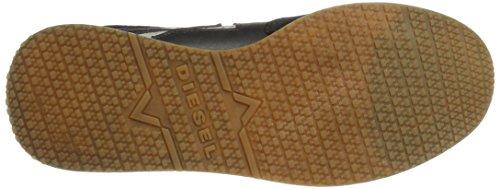 Diesel Y01462, Zapatillas para Hombre Negro (Black)