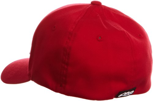 Flexfit Rojo visera Blanco Gorra Blaze Alpinestars redondeada q57SwWxRTU