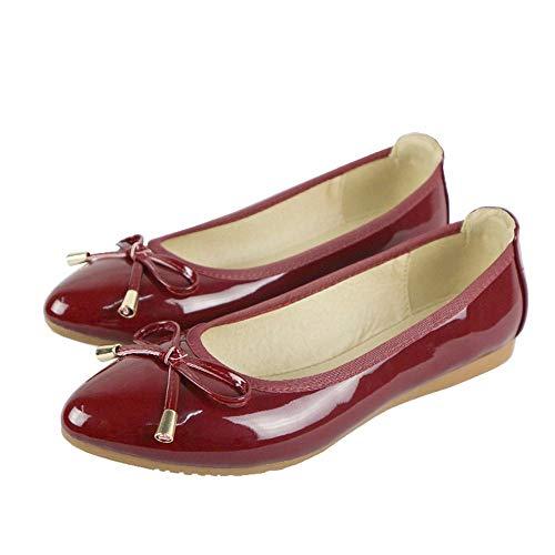 confortevole FLYRCX donna bassa pieghevoli scarpe sottolineato signora ballo incinta A morbida ha scarpe scarpe La da scarpe singole basse bocca da 0wXrO0q