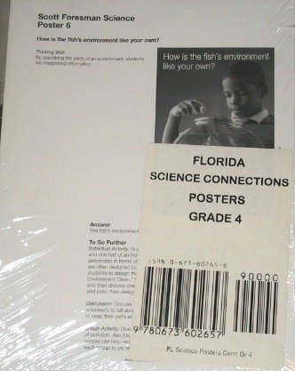 Read Online Scott Foresman Science Posters, Grade 4 (Florida Science Connections, Posters) PDF