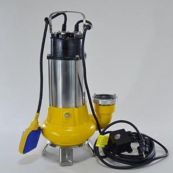 Fäkalienpumpe Tauchpumpe Schmutzwasserpumpe 1,1kW freier Durchlauf bis 35mm