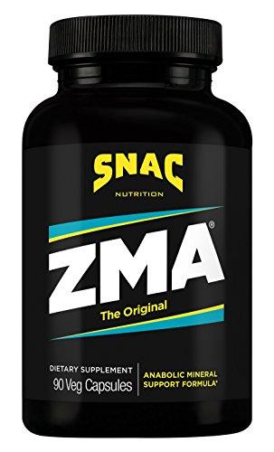 Original 90 Capsules (SNAC ZMA The Original Recovery and Sleep Enhancement Formula, 90 Capsules)