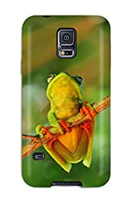 Best 7439171K14363675 Perfect Frog Perereca Case Cover Skin For Galaxy S5 Phone Case
