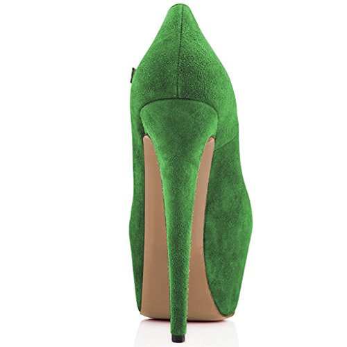 Mary Green Shoes Pumps Stiletto Moss Heels Joogo Jane Women Ankle Dress Strap High Size 7 Platform Bx5aOqR