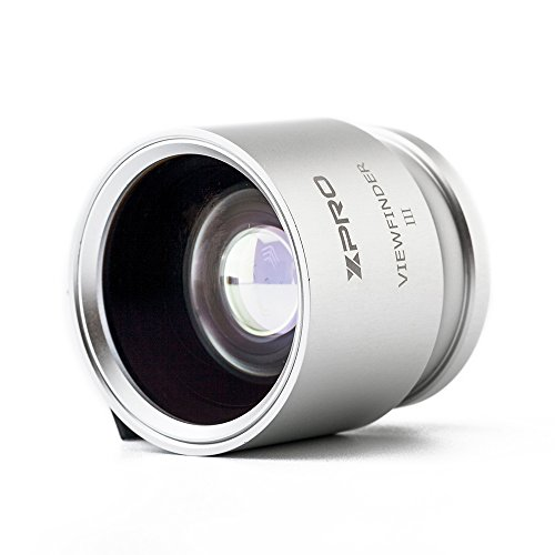 Optical Viewfinder (XPRO Optical Viewfinder 28/35/45 Silver Camera Eyepiece for Canon Nikon Pentax Sony Olympus Fujifim Samsung Sigma Minoltaz DSLR Camera)