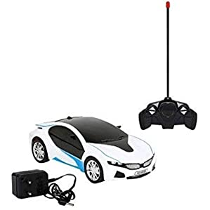 ExaltedCollection Remote Controlled Rechargeable Famous Car with 3D Lights