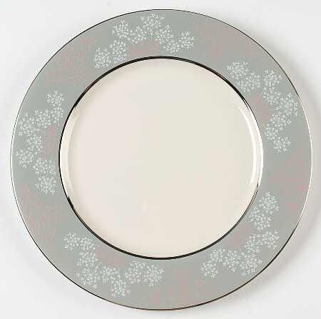 - Castleton China Lace Dinner Plate