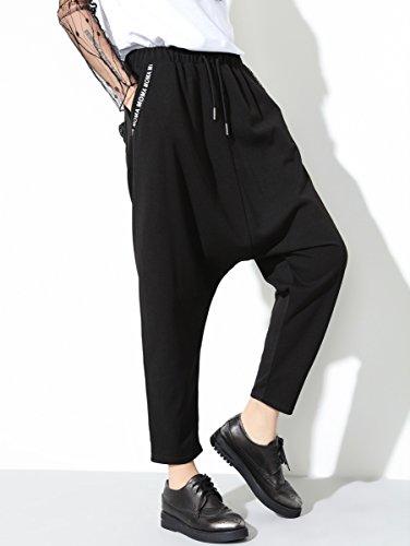 ELLAZHU - Pantalón - para mujer GY1217 Schwarz