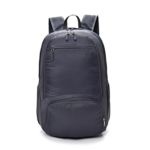 Beatsport - Bolso mochila  de Nylon para mujer Negro A-purple B-gray