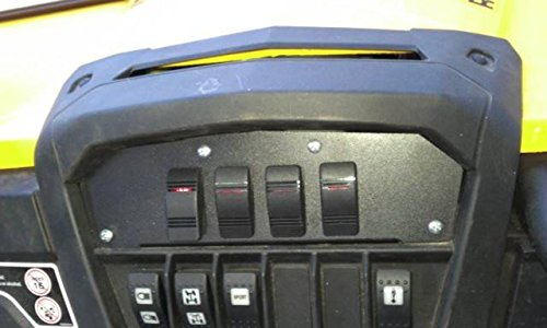 2014 Can-Am Maverick ''Command Center'' with Fuse Block and Illuminated Switches 11040 by Extreme Metal Products