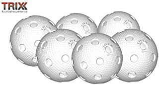 TRIX unihockey/floorball ballon de handball réplique de la blanc lot de 6 MEGASAT s.r.o.