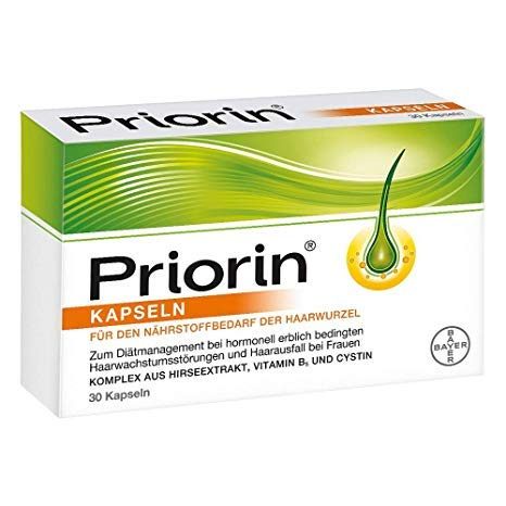 Priorin Capsules, 120 St -Hair Loss Products & Hair Regrowth Shampoos -Personal Care & Hair Care by Pri
