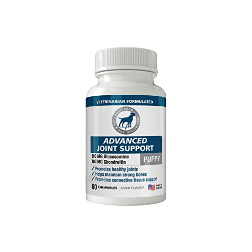 Brand New! Advanced Joint Support (Puppy Formula) - Premium VETERINARIAN-GRADE Joint Supplements for Dogs - Glucosamine & Chondroitin to Promote Healthy Joints for Your Growing Puppy - Tasty Chewables