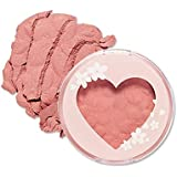 ETUDE HOUSE Heart Blossom Cheek (#PK004 My Little Blossom)   Pearl Pigmented Cheek Powder for Perfect Spring Makeup