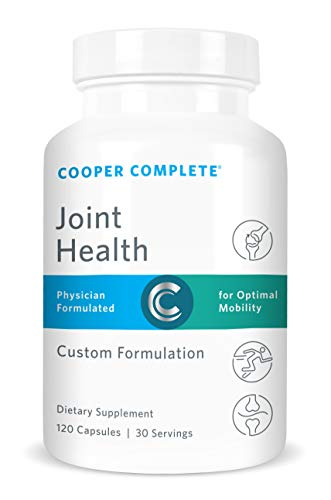 Cooper Complete - Joint Health Supplement - Glucosamine, Chondroitin, Gelatin, Bromelain and Magnesium-30 Day Supply