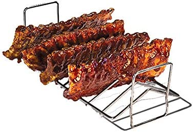 XD E-commerce Grille Barbecue Rectangulaire Grille Barbecue Barbecue Rack Portable Barbecue Grill Poissons Grill pour Barbecue M