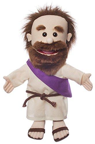"14"" Jesus w/ Rope Belt, Bible Character, Hand Puppet"