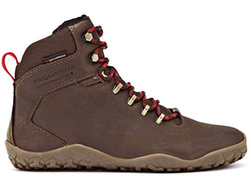 vivobarefoot Men's Tracker FG M Leather Walking Shoe, Dark Brown, 43 EU/(10-10.5) M US from vivobarefoot