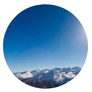 alfombrilla de ratón Estación de esquí de Bad Gastein en las montañas nevadas, Austria - ronda - 20cm