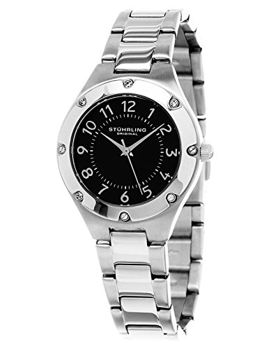 Stuhrling Original Women's 548.02 Symphony Analog Display Quartz Silver Watch