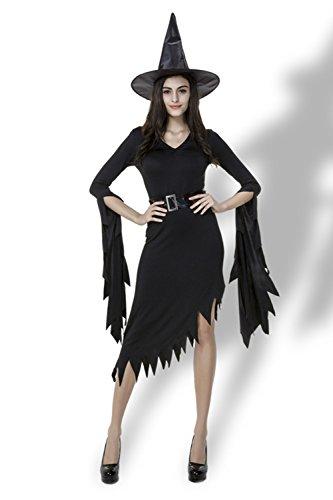 Sexy Halloween Party Ideas (AIKOSHA ROMAN Womens Sexy Halloween Party Role-playing Wicked Witch Costume)
