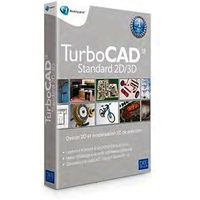 Avanquest TurboCAD 18 Standard, Win, FR - Software de diseño automatizado (CAD) (Win, FR, ENG, 300 MB, 64 MB, Intel Pentium IV, 1 usuario(s))