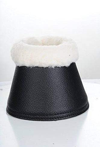 HKM 85032100.0597/Cloches Comfort Imitation Cuir avec Rembourrage Marron fonc/é