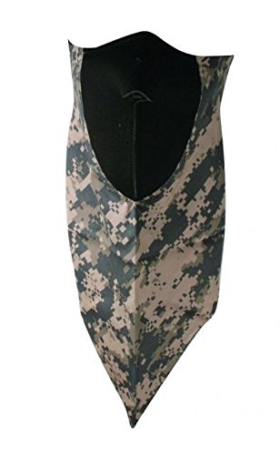 Zanheadgear Neodanna ACU 100 Percentage Cotton Bandanna with Neoprene Face Mask (Camouflage)