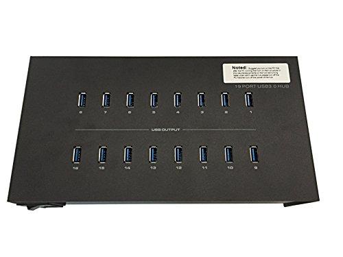 Eyeboot 19 Port 40A USB 3.0 Hub 110-120V 2 amps per port by Eyeboot (Image #4)