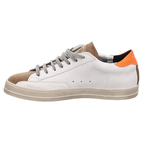 John White John P448 Orange Orange White Bianco P448 wxIEwdqz