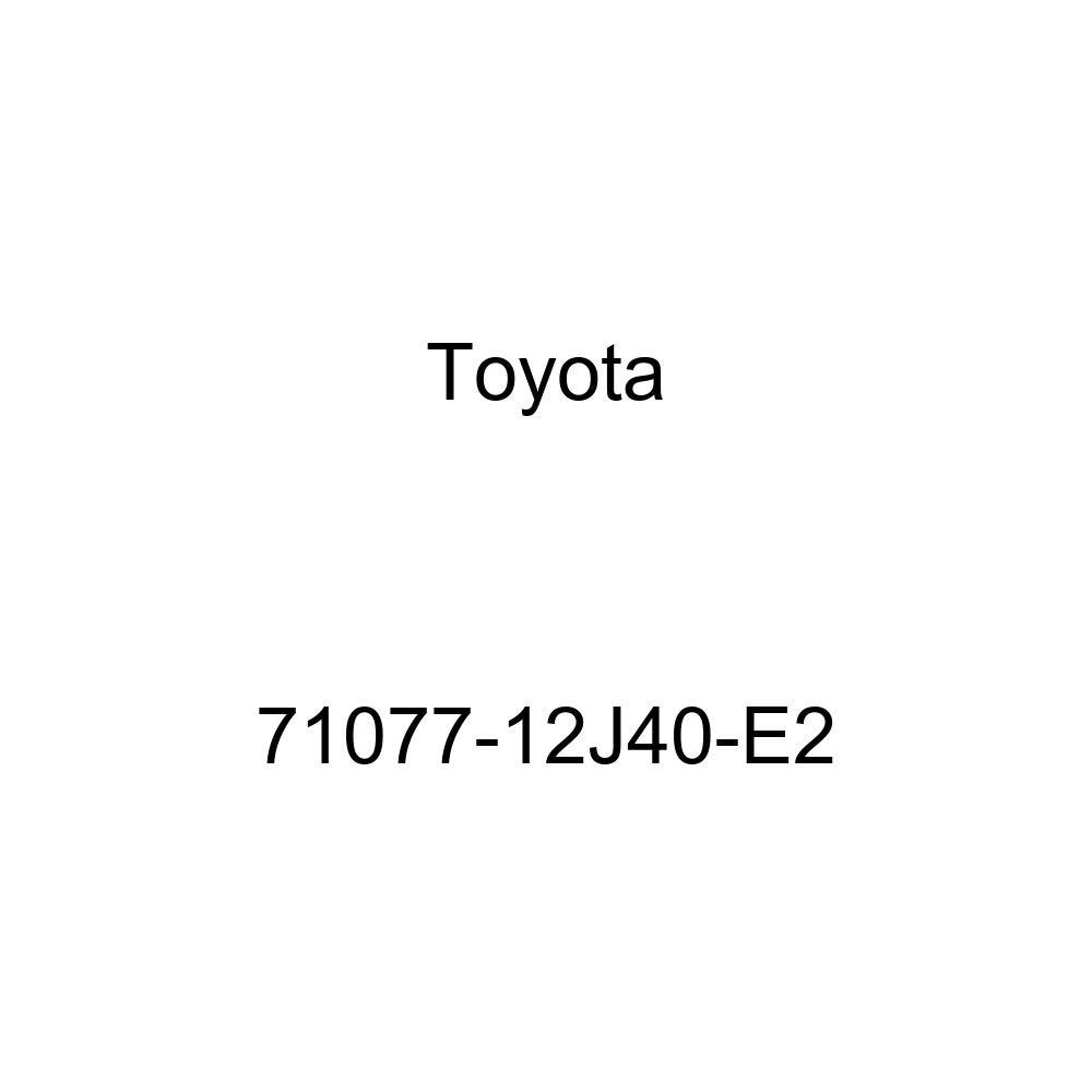TOYOTA Genuine 71077-12J40-E2 Seat Back Cover