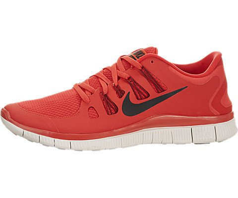 low priced 6915f 0aec9 Galleon - Nike Men s Free 5.0+ Breathe Running Light Crimson   Gym Red    Summit White   Black Synthetic Shoe - 10 D(M) US