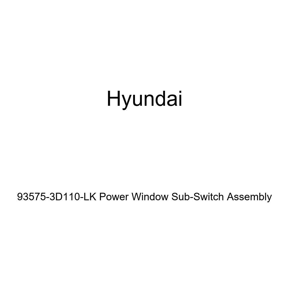 Genuine Hyundai 93575-3D110-LK Power Window Sub-Switch Assembly