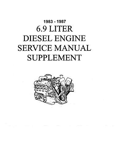 Diesel Shop Manual - bishko automotive literature 1983 1986 1987 Ford 6.9 Diesel Engine Shop Service Repair Engine Drivetrain Book