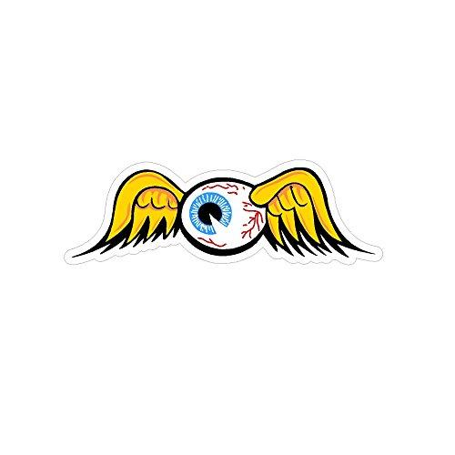 Signs By Woody Flying Eyeball Vintage Drag Racing Window Sticker -