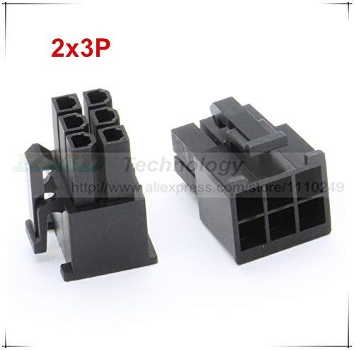 Lote de 10 cables para coche 5557-R 5557 de 4,2 mm, color negro ...