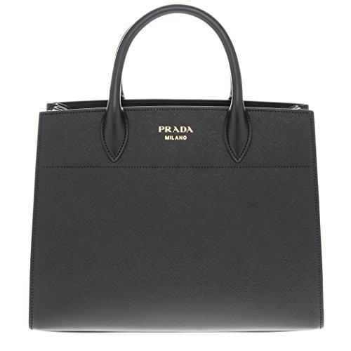 Prada Women's Medium 'Bibliotheque' Bag Black