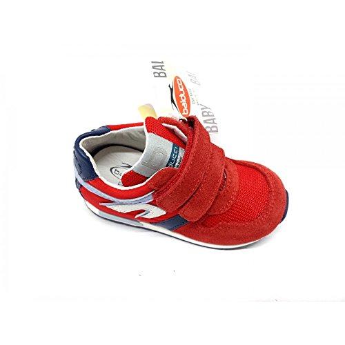Balducci Jungen Sneaker Rot Rosso Blu rosso blu