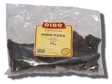 DIBO Pferde-Fleisch, 5kg-Karton, der kleine Naturkau-Snack oder Leckerli für Zwischendurch, Hundefutter, Qualitätskauartikel ohne Chemie von DIBO