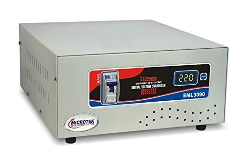 Microtek EML 3090 90V   300V Voltage Stabilizer for Mainline, Pack of 1