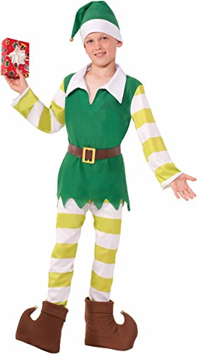 Forum Novelties Jingles the Elf Costume, Medium -