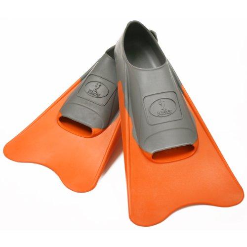 Kiefer 800400-A Training Swim Fins, Youth Size 1-3, Orange