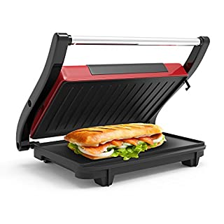 Chef Buddy 82-SW100 Non-Stick Grill and Panini Press, Red (B00LEF2BES) | Amazon price tracker / tracking, Amazon price history charts, Amazon price watches, Amazon price drop alerts