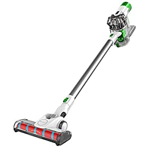 Proscenic P9 Cordless Vacuum Cleaner, Strengthened Powerful Suction and Lightweight Cordless Stick Vacuum, Handheld Bagless Stick Vacuum with LED Light, Charging Base, Long Lasting, Pets Free
